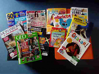Magazines mediatheque